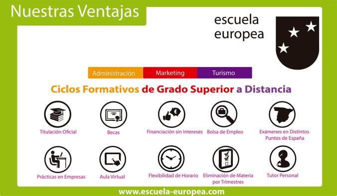 Ventajas de Estudiar en Escuela Europea